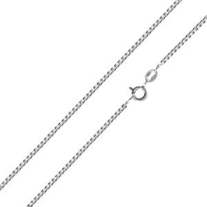 925 Sterling Silver Italy Box Chain